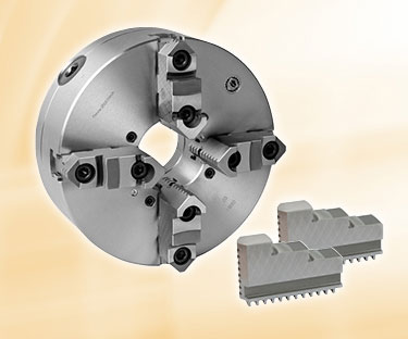 Lathe chuck image with link to lathe chuck category page.