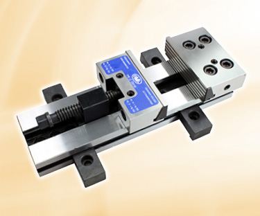Machine vice image with link to workholding category page.