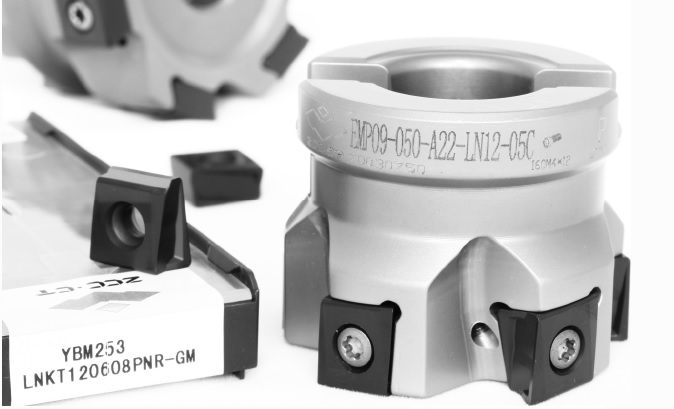 100mm EMP09 Series 90 Degree Indexable Face Mill for LNKT12 Inserts - ZCCCT.