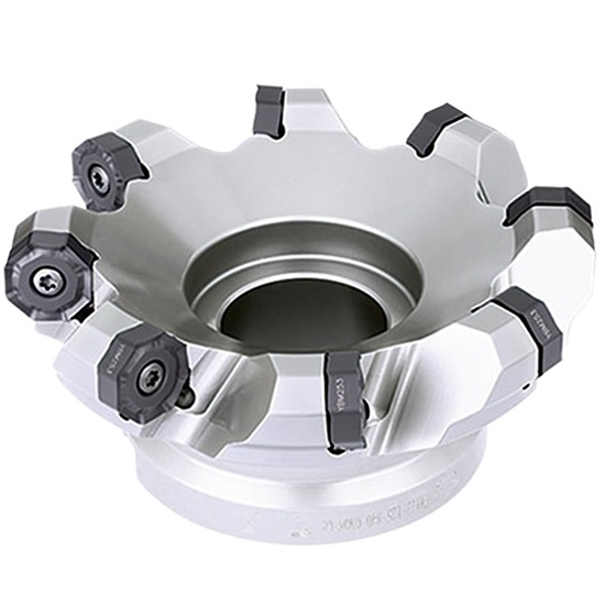 100mm FMA12 Series 45 Degree Indexable Face Mill for ONHU08 Inserts  - ZCCCT.