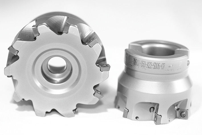 100mm XMR01 Series High Feed Indexable Face Mill for SDMT12 Inserts - ZCCCT.