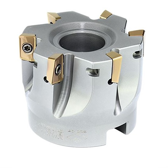 80mm EMP02 Series 90 Degree Indexable Face Mill for APKT16 Inserts - ZCCCT.