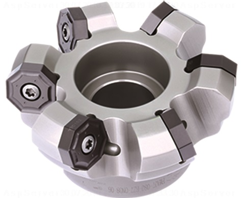80mm FMA07 Series 45 Degree Indexable Face Mill for ONHU08 Inserts - ZCCCT.