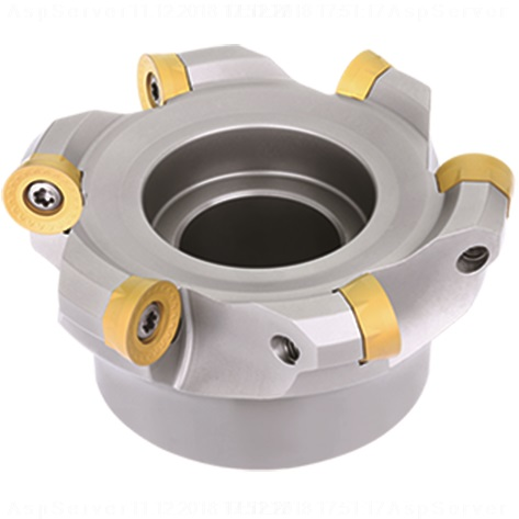 80mm FMR02 Series Indexable Face Mill for RCKT16 Button Inserts - ZCCCT.