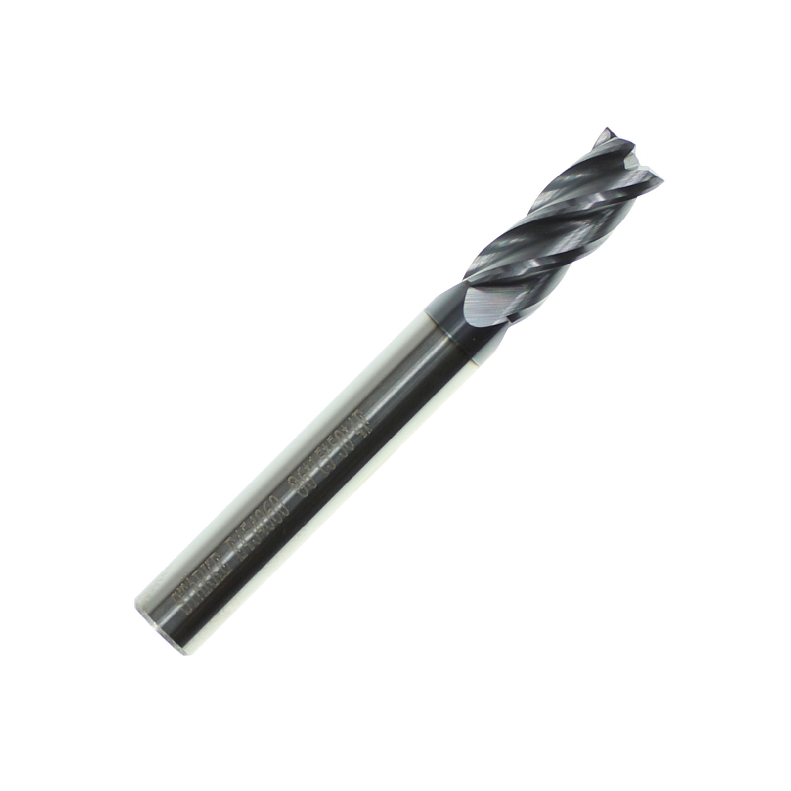STARKE Eco-Mill Coated Carbide 4 Flute End Mill.