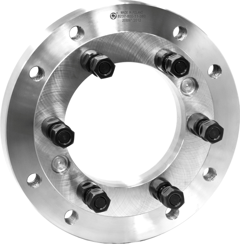 Bison 8237 Fully Finished Adaptor Plates for Lathe Chucks (C Taper) - DIN 55027.