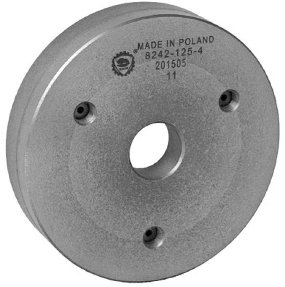 Bison 8242-X Semi-Machined Adaptor Plates (D Taper) - DIN 55029.