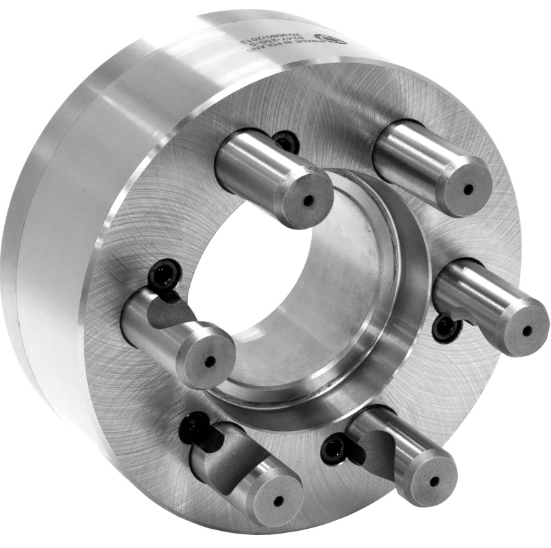 Bison 8247 Fully Finished Adaptor Plates for Lathe Chucks (D Taper) - DIN 55029.