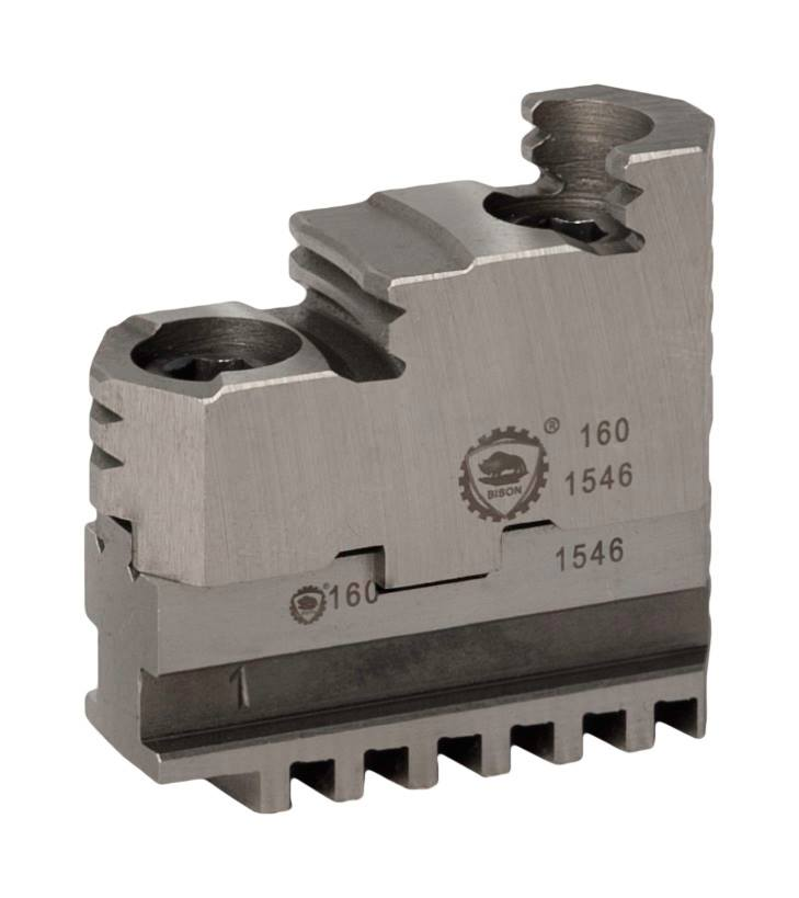 Bison SDT3600-3700 Hard 2-Piece Reversible Jaws for 3600 Series And 3700 Series 3-Jaw Self-Centring Scroll Chucks.