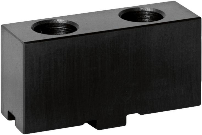 Bison SGM3400 Soft Top Jaws for 34** Series 3-Jaw Self-Centring Wedge Bar Chucks.