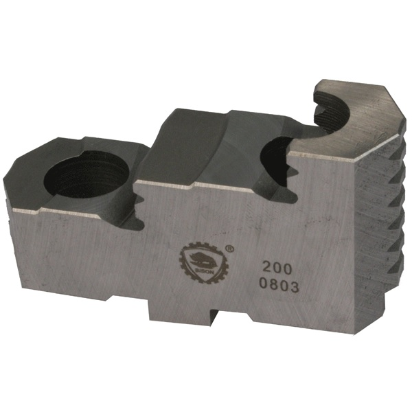 Bison SGT3800 Hard Top Jaws for 3800 Series 6-Jaw Self-Centring Scroll Chucks.