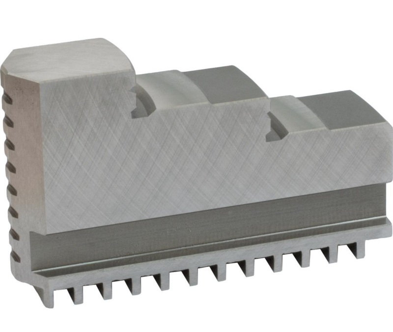 Bison SJZ3200-3500 Hard Solid Jaws - Outside Clamping - for 32** Series And 35** Series 3-Jaw Self-Centring Scroll Chucks.