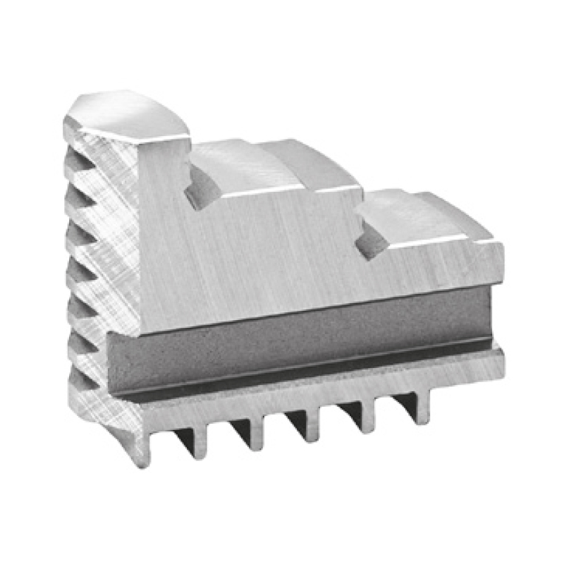 Bison SJZW3200-3500 Hard Solid Jaws - Outside-Inside Clamping - for 3200 Series And 3500 Series 3-Jaw Self-Centring Scroll Chucks.