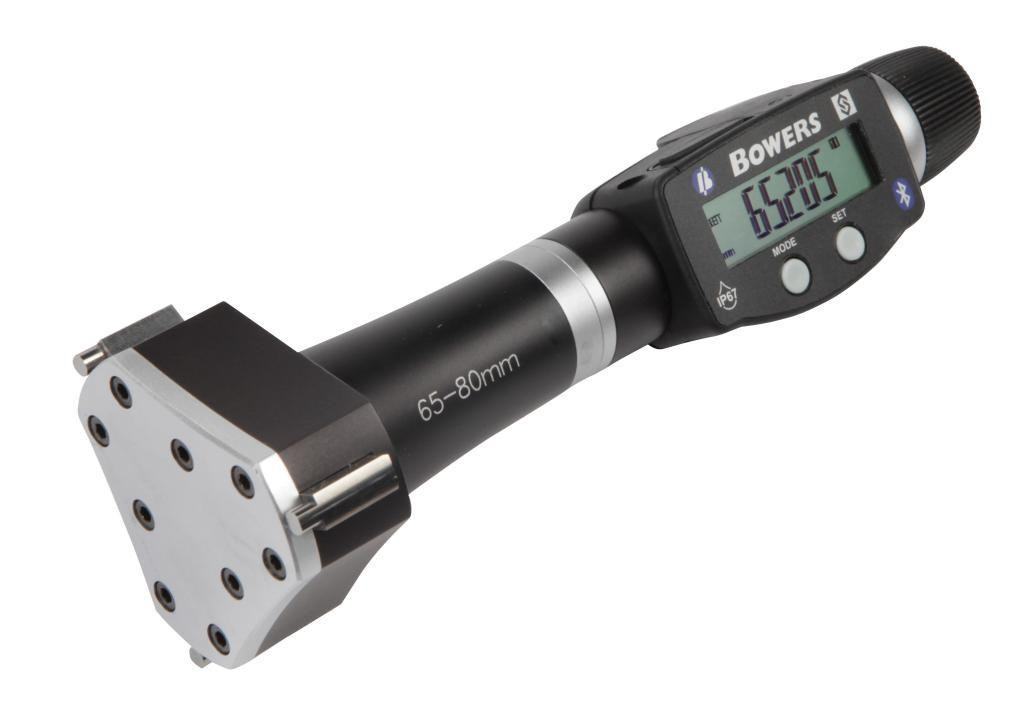 Bowers XT3 Digital Imperial Bore Gauge with Bluetooth.