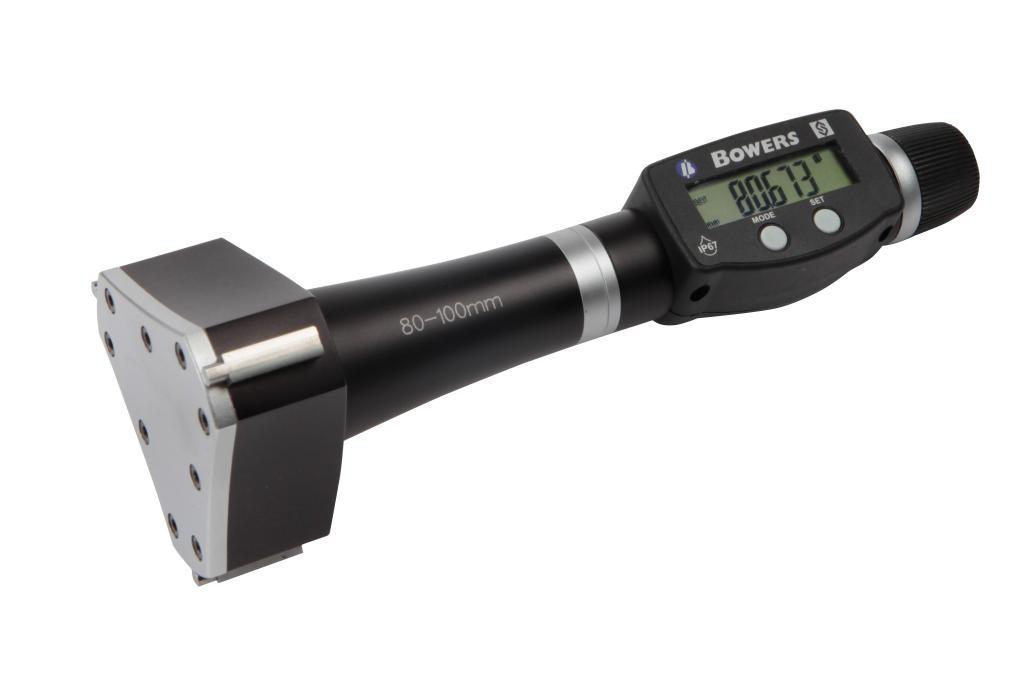 Bowers XT3 Digital Metric Bore Gauge.