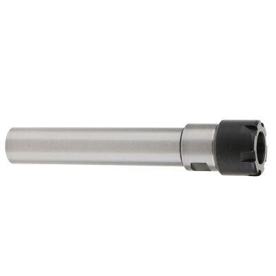 ER20 Straight Shank Toolholder - 140mm Gauge Length - Mini Locknut.