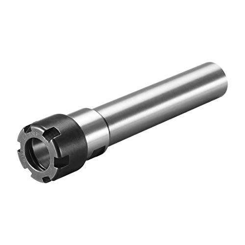 ER20 Straight Shank Toolholder - 140mm Gauge Length - Standard Locknut.