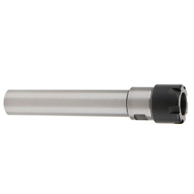 ER20 Straight Shank Toolholder - 200mm Gauge Length - Mini Locknut.