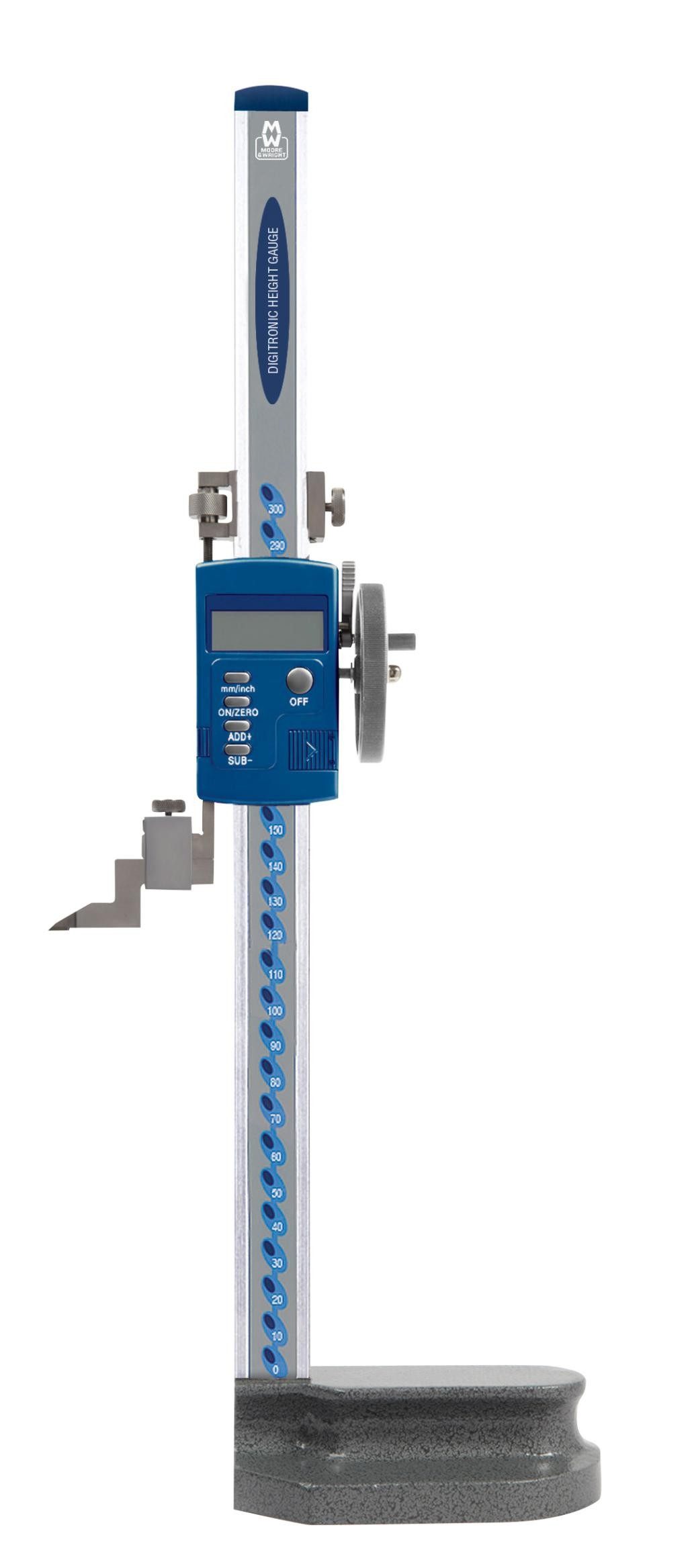 Moore and Wright MW193-DDL Digital Height Gauge.