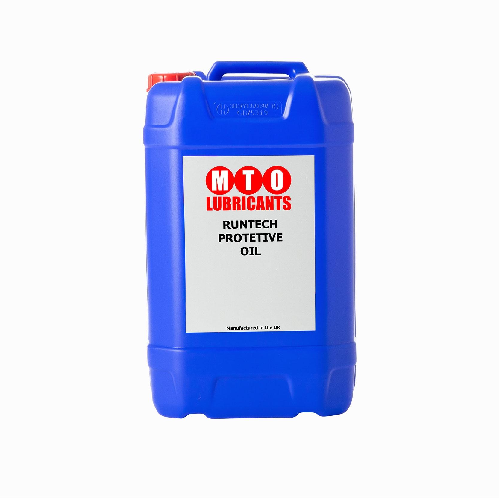MTO Runtec 10 Protective Oil.