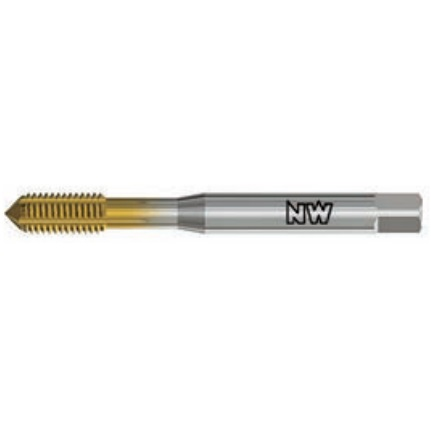 NEUWERK METRIC COARSE ROLL TAPS Spiral Point HSSE-CO GF0TM Series for Stainless Steel.