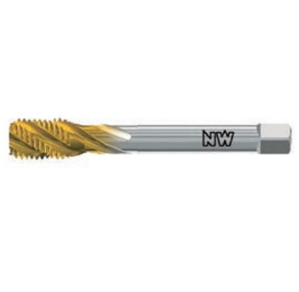 NEUWERK METRIC FINE MACHINE TAPS Spiral Flute HSSE H40TMF Series for General Purpose.