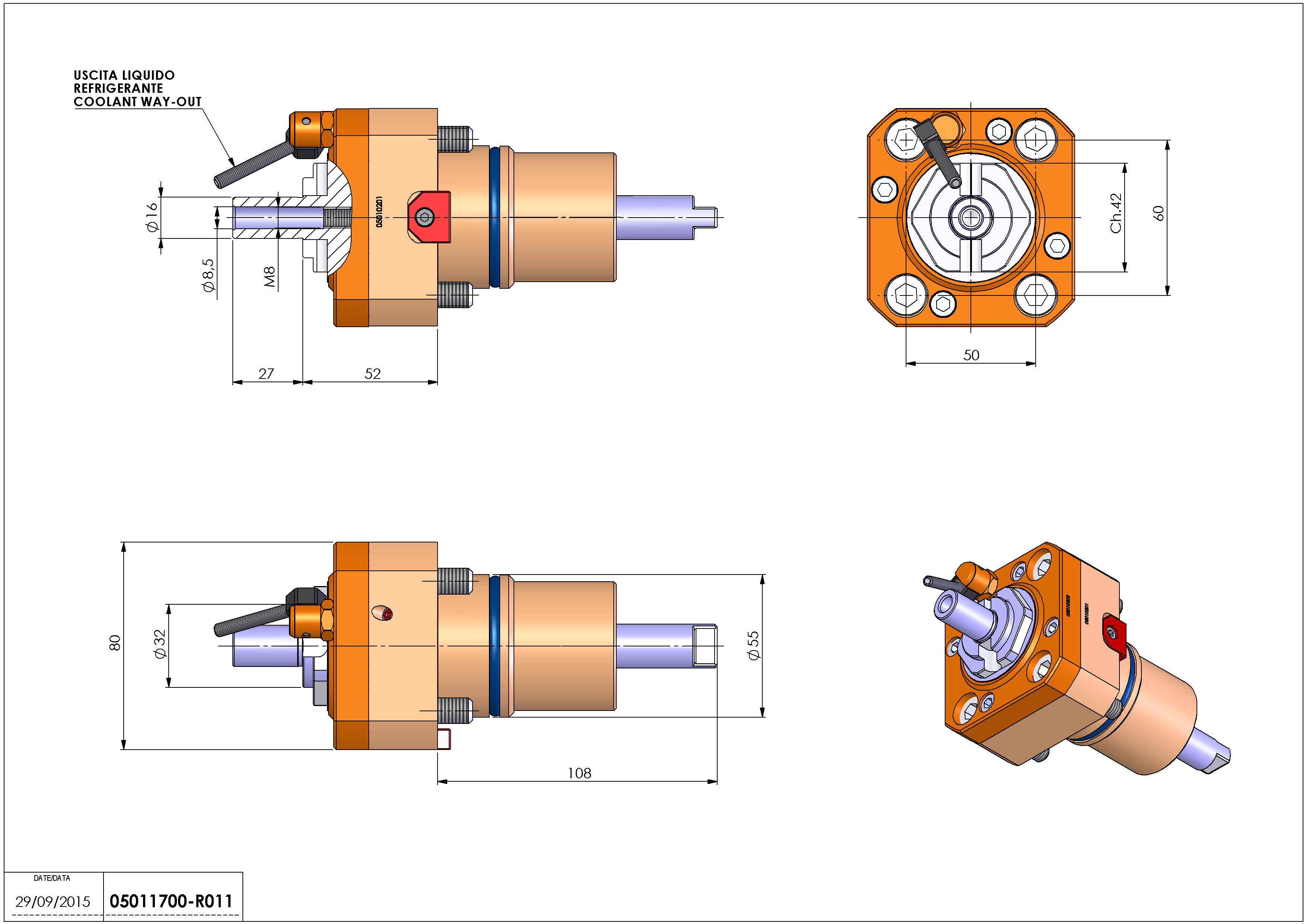 Technical image - LT-S D55 DIN138-16 H52 NK.