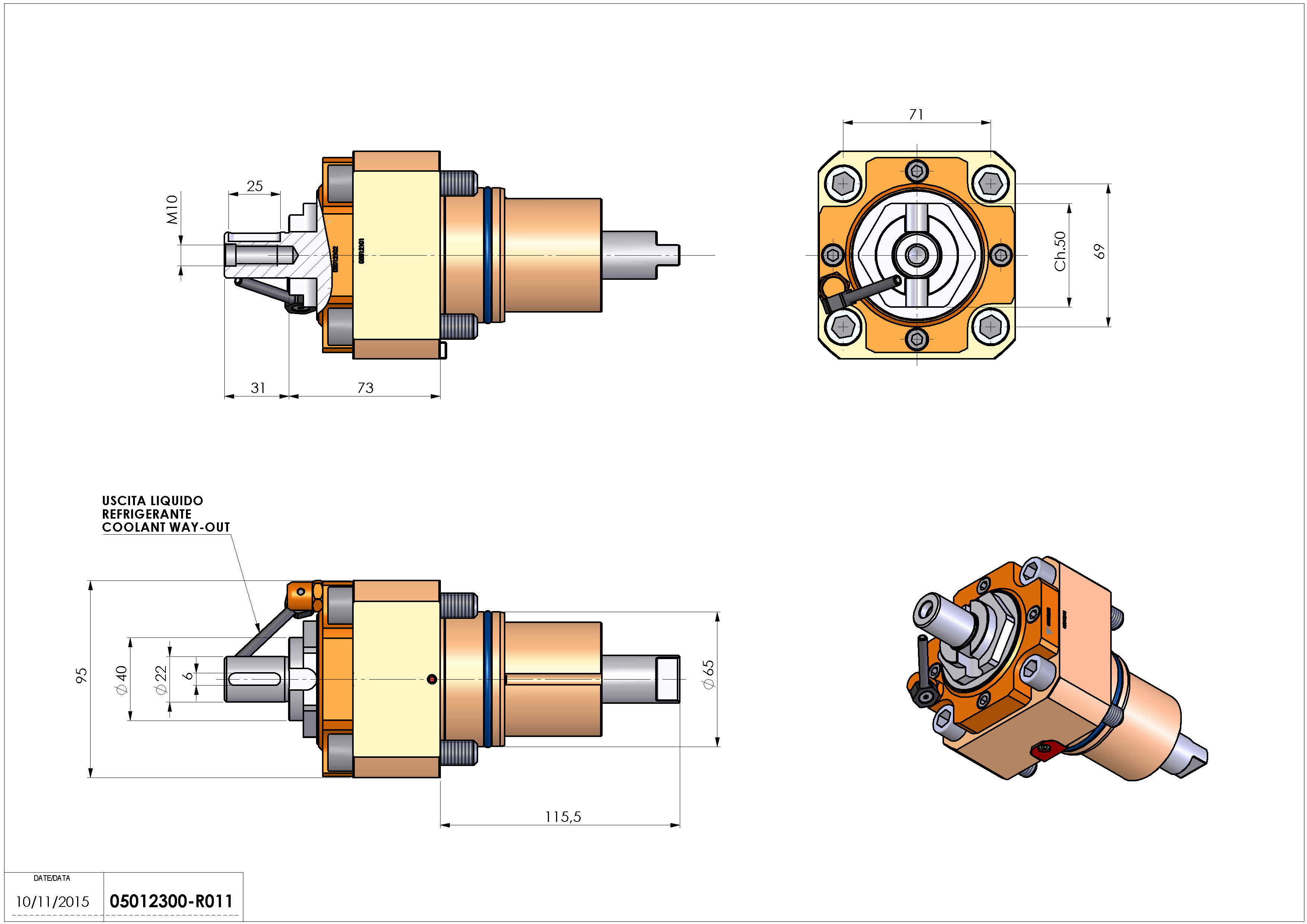Technical image - LT-S D65 DIN138-22 H73 NK.