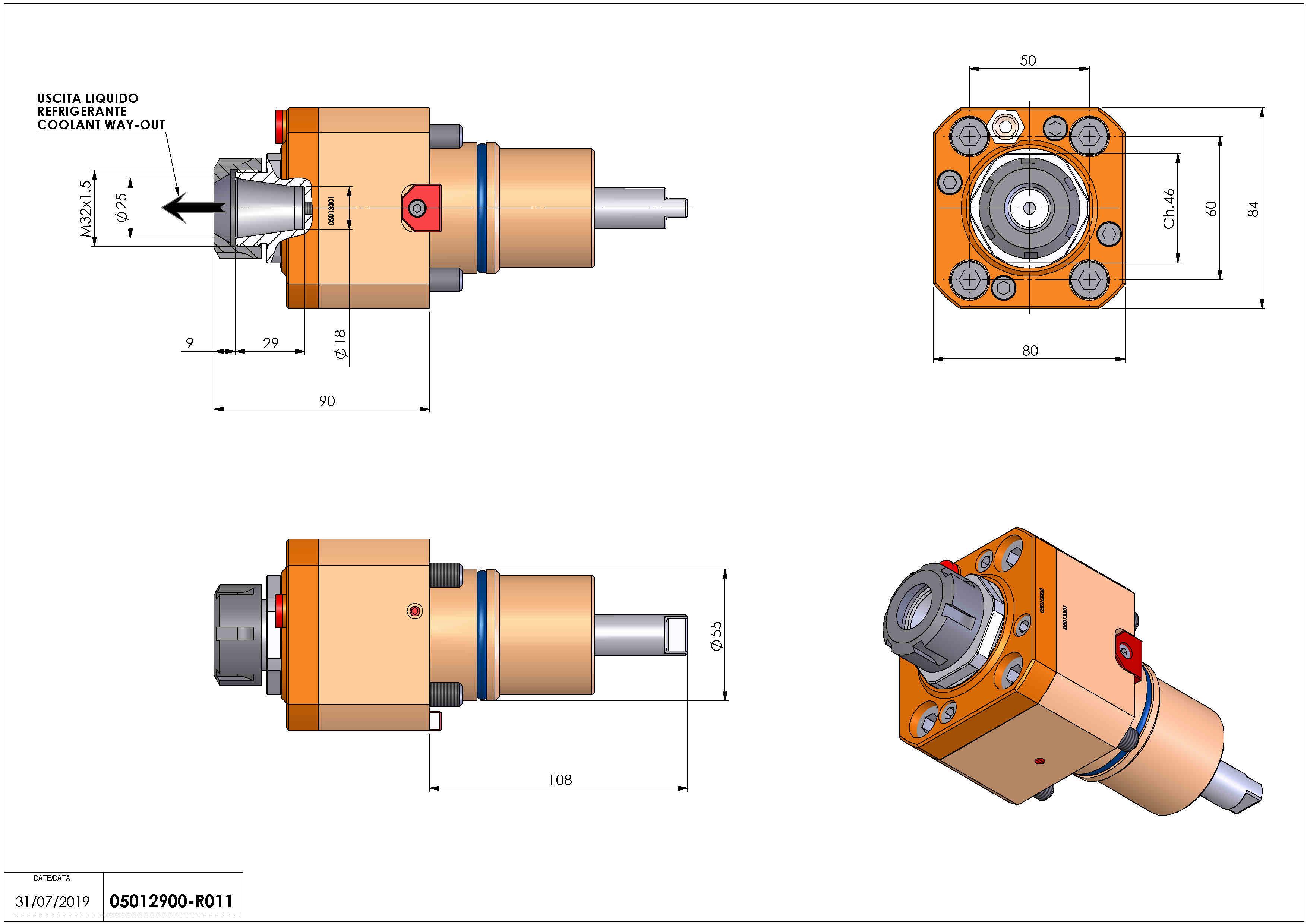 Technical image - LT-S D55 ER25 HRF H90.