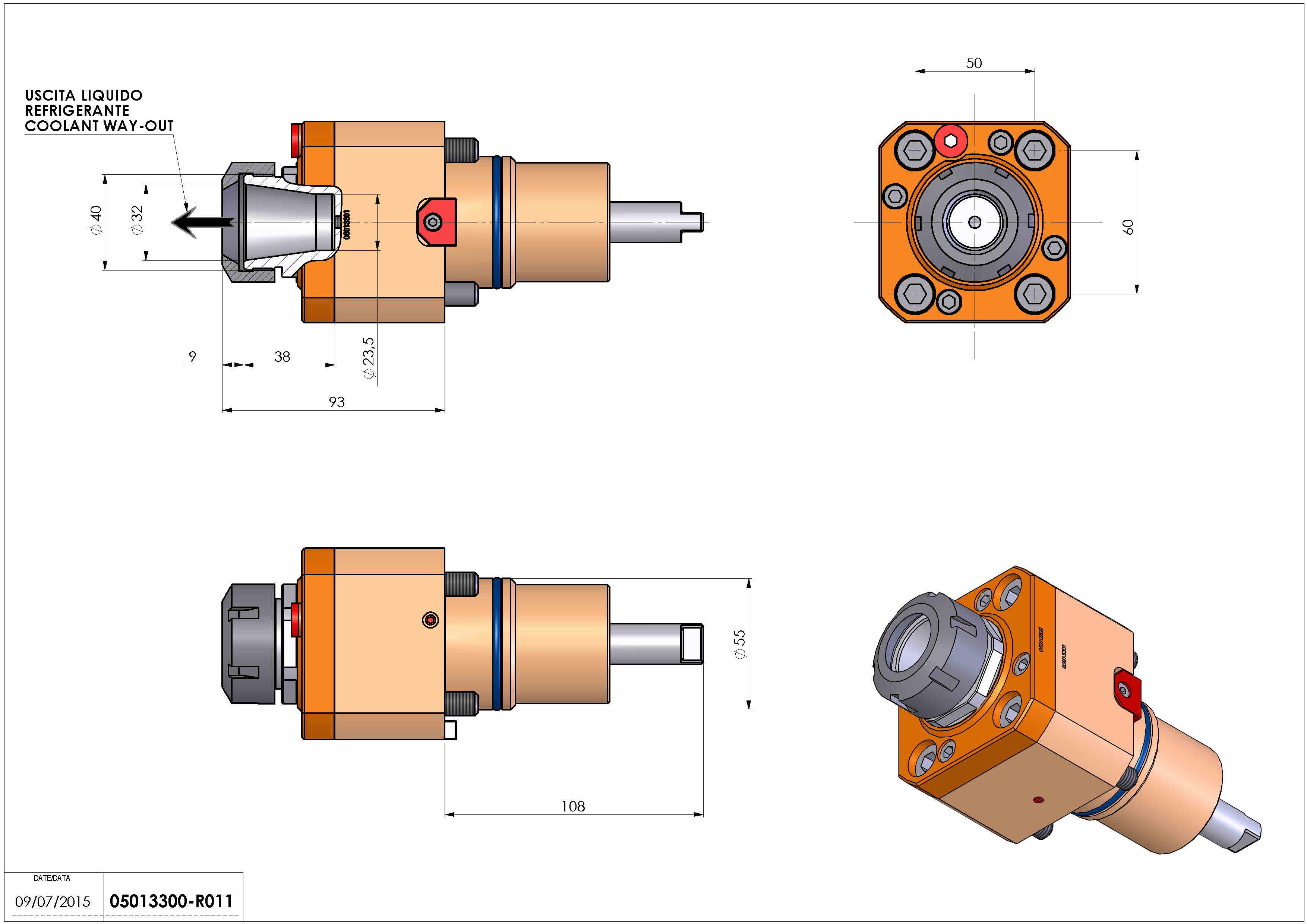 Technical image - LT-S D55 ER32 HRF H93.