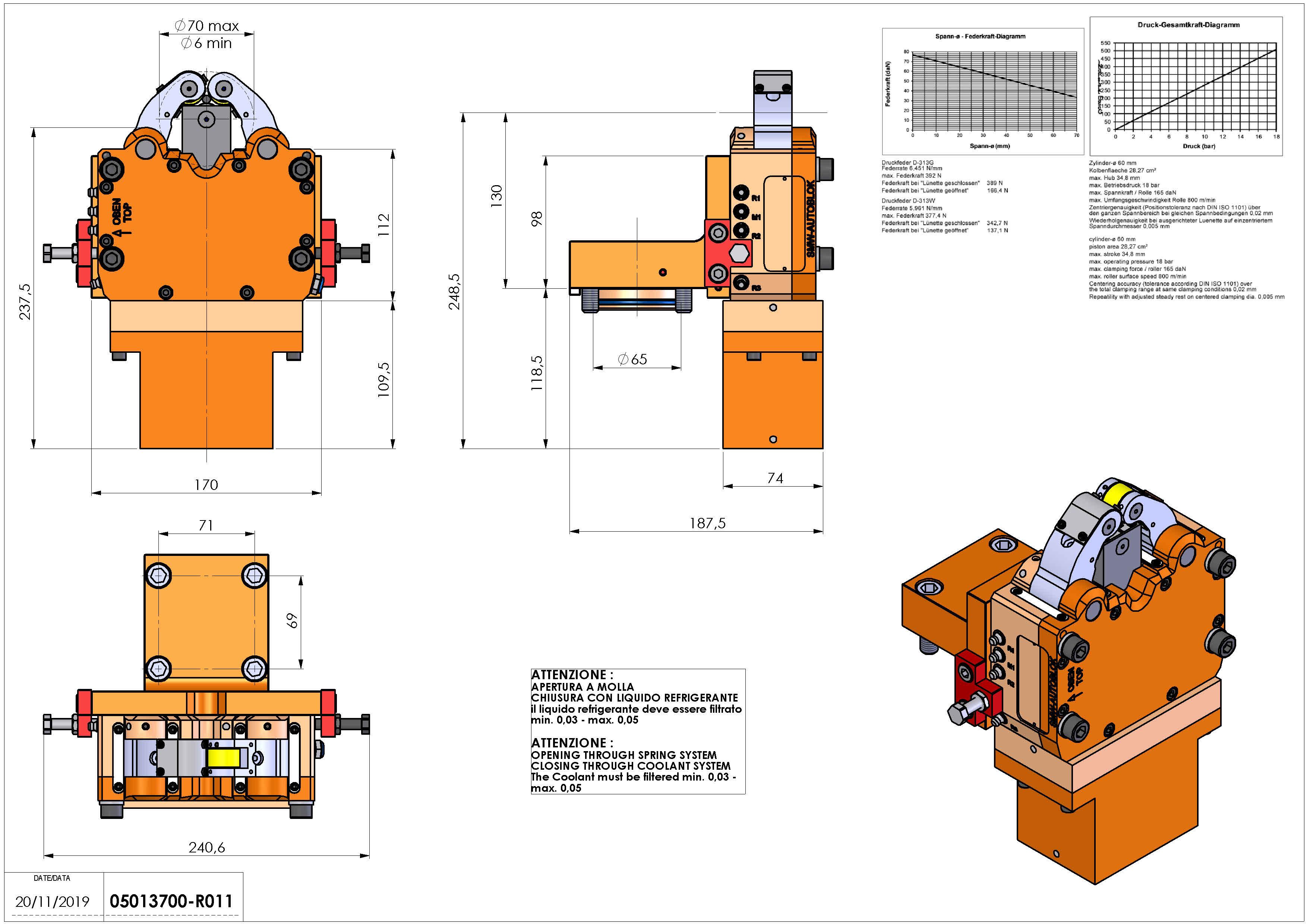 Technical image - LUNETTA D65 D6-70 SLUX1M H140.