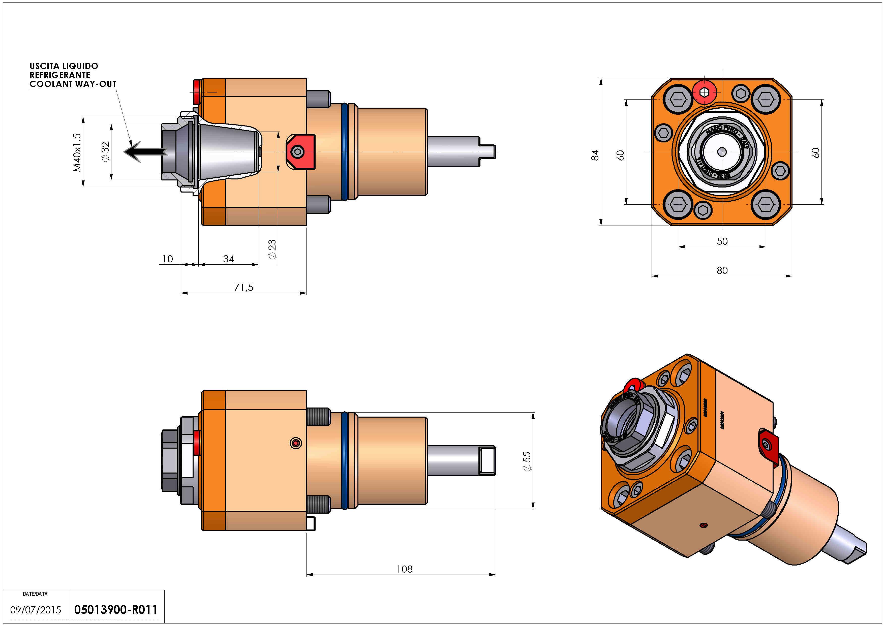 Technical image - LT-S D55 ER32F HRF H72.