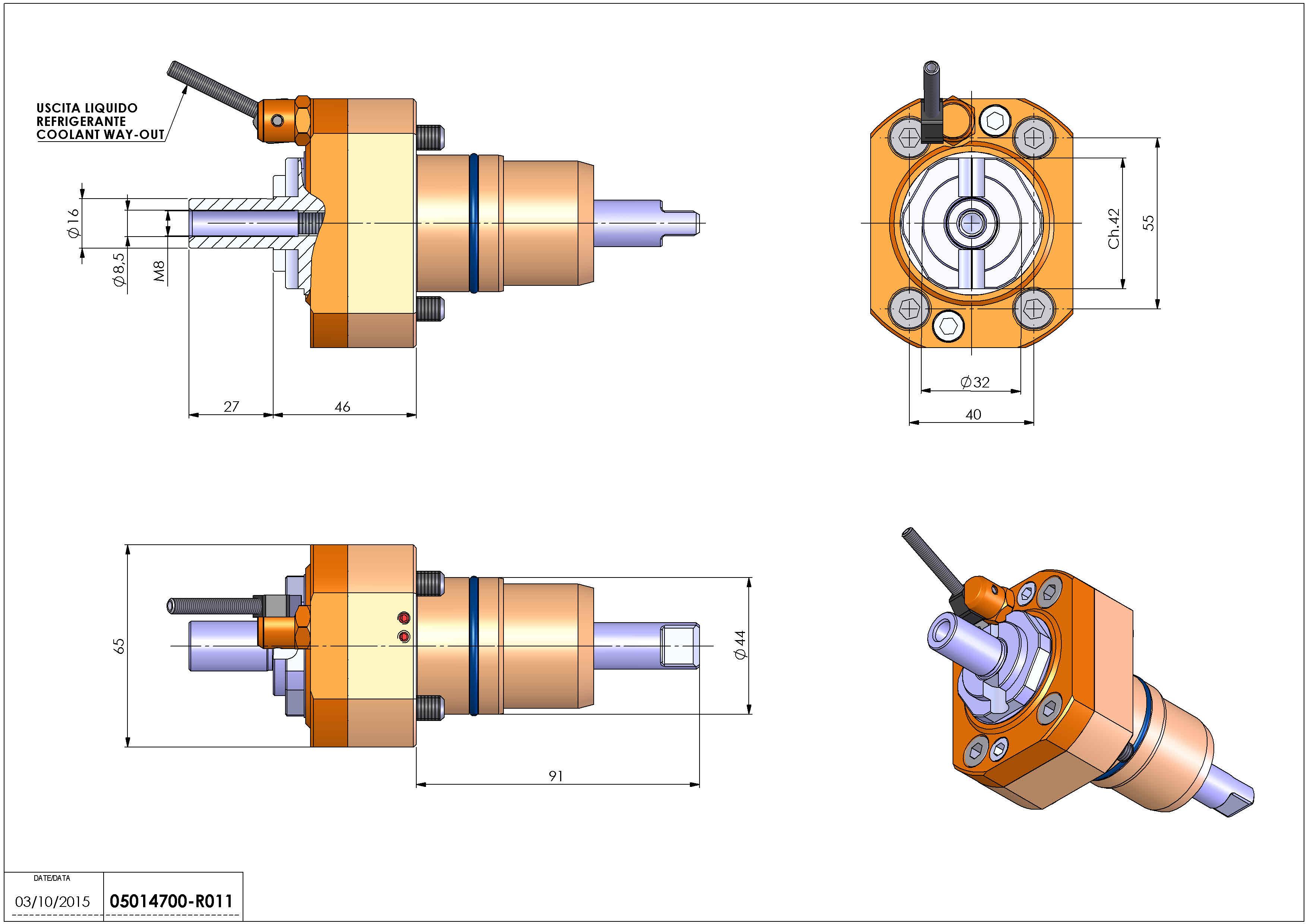 Technical image - LT-S D44 DIN138-16 H46 NK.