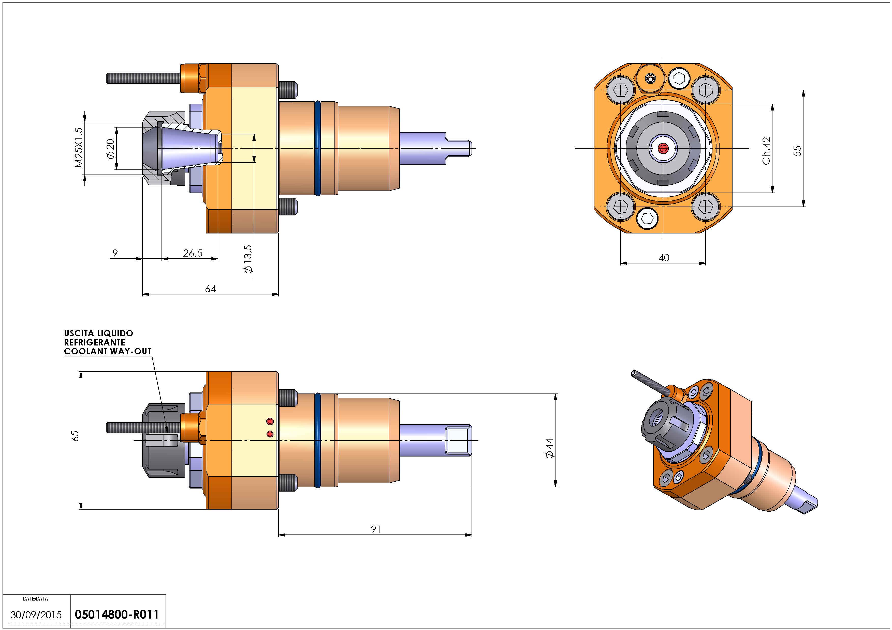 Technical image - LT-S D44 ER20 H64 NK.