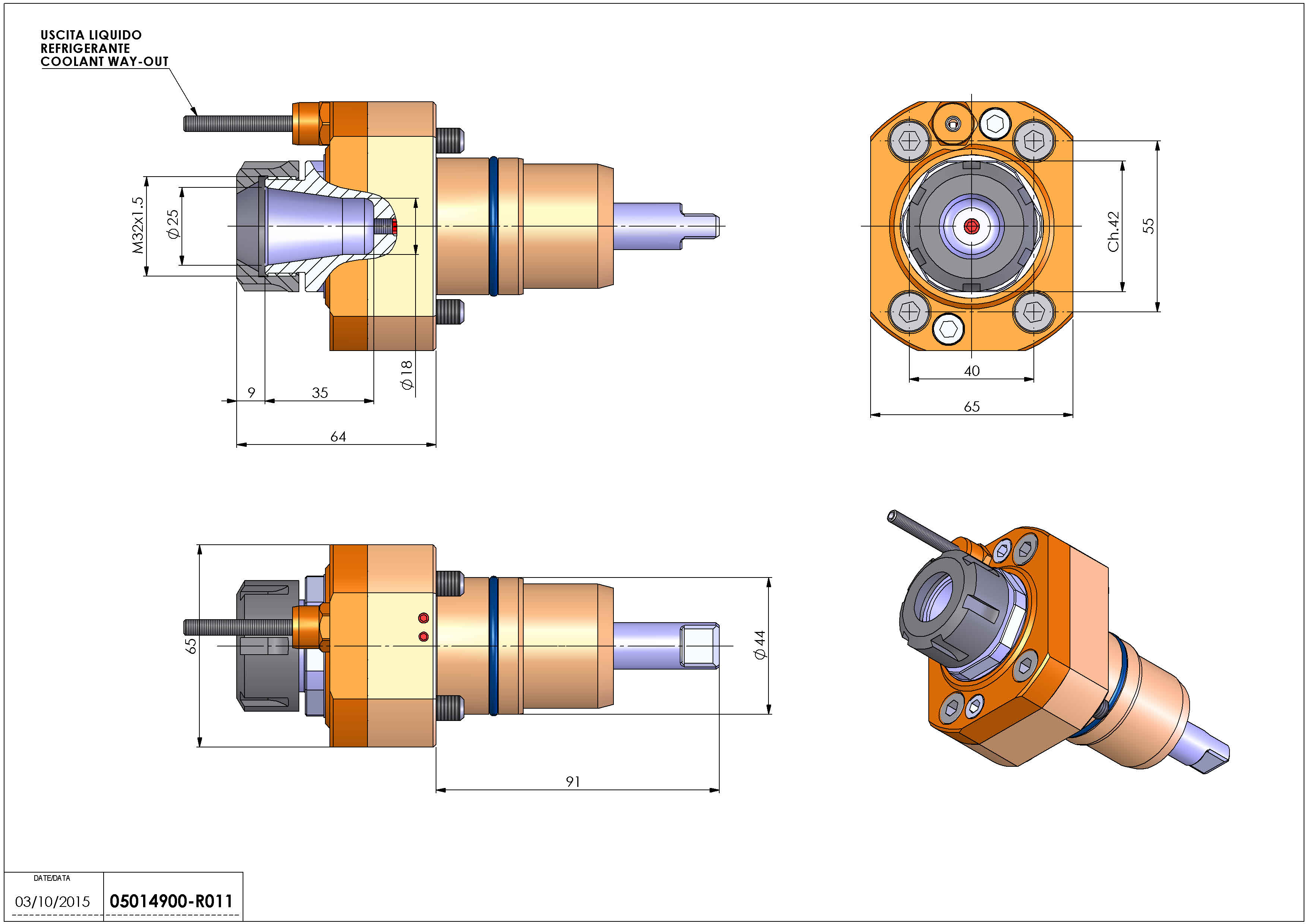 Technical image - LT-S D44 ER25 H64 NK.