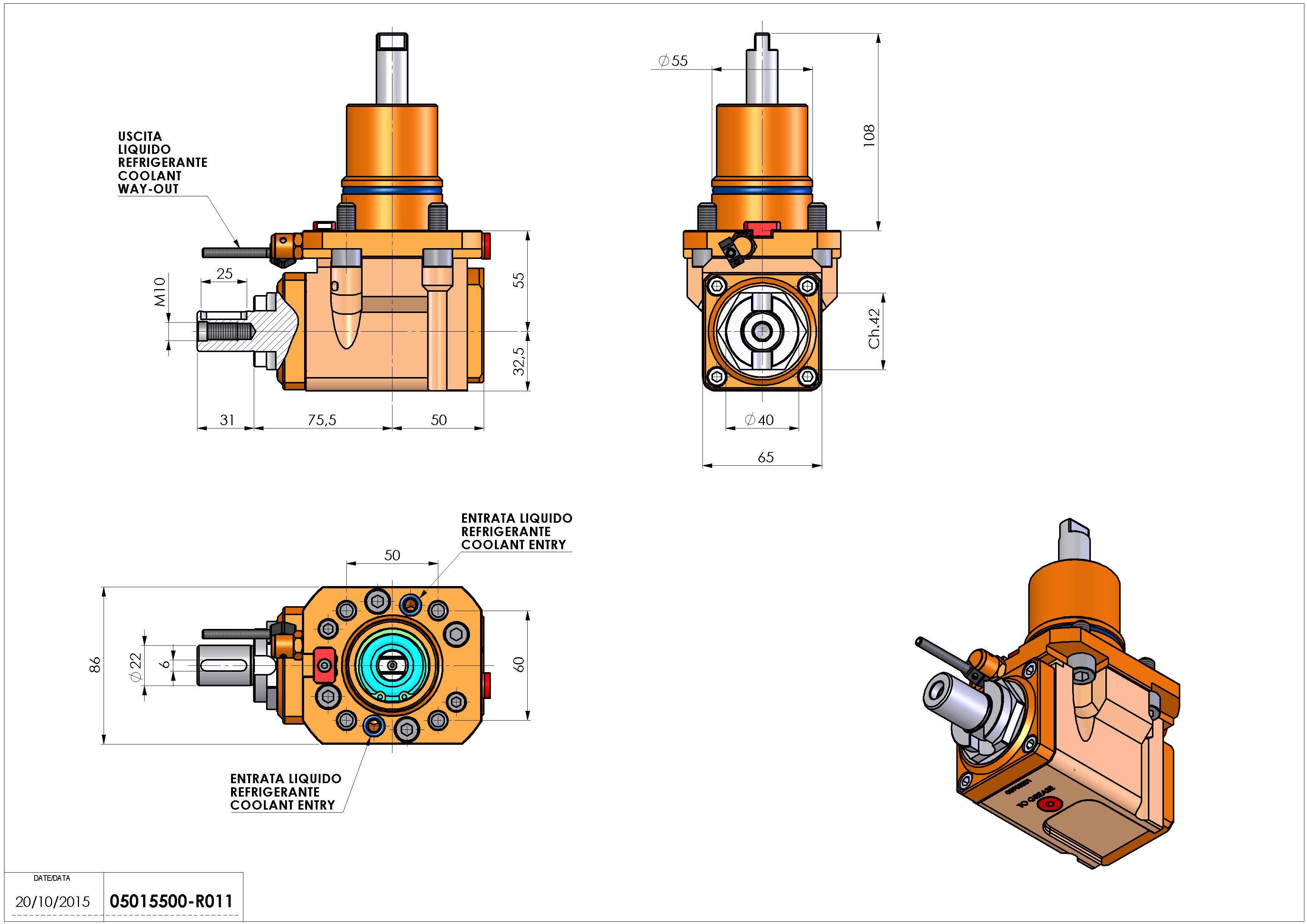 Technical image - LT-A D55 DIN138-22 H55 NK.
