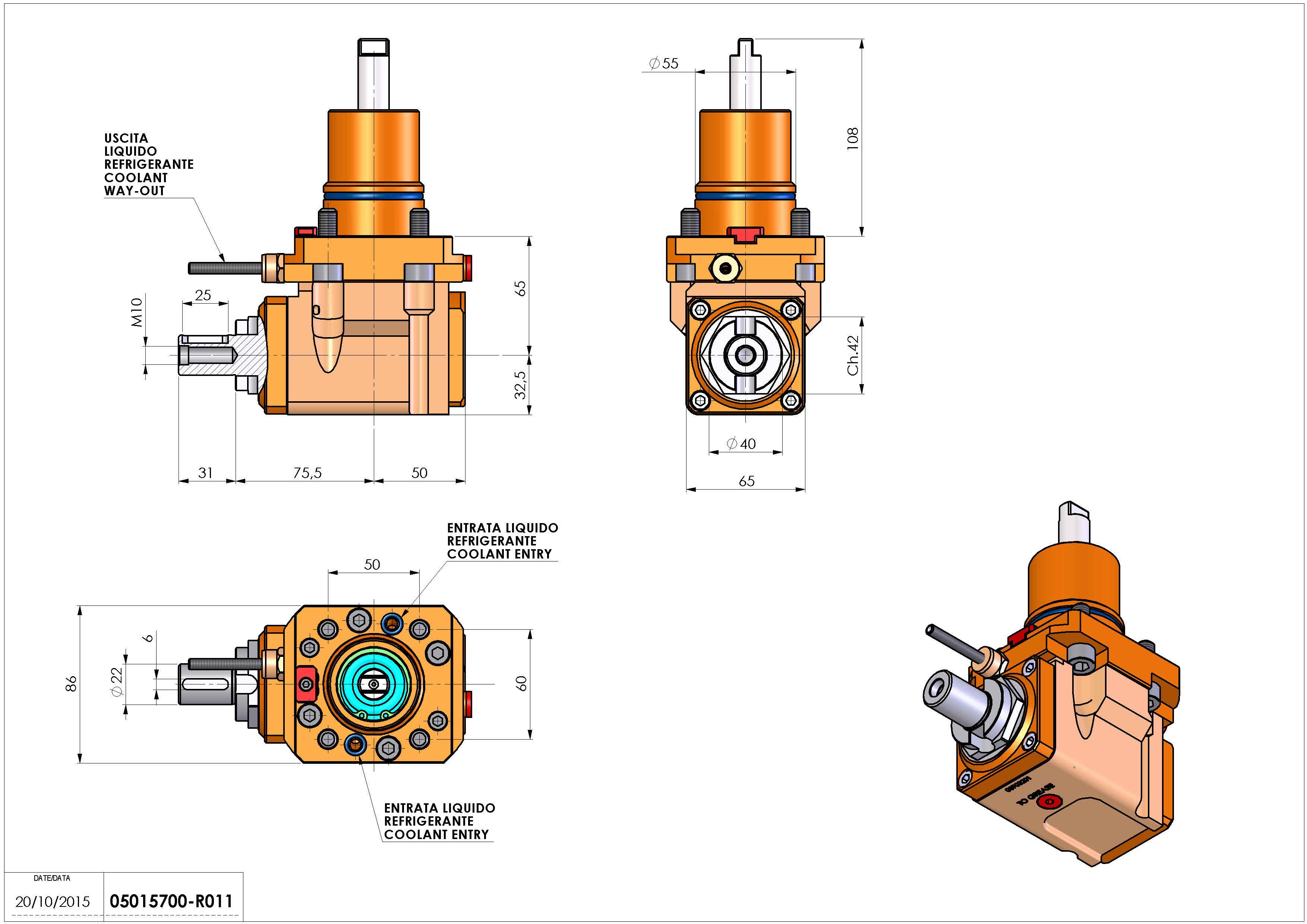 Technical image - LT-A D55 DIN138-22 H65 NK.