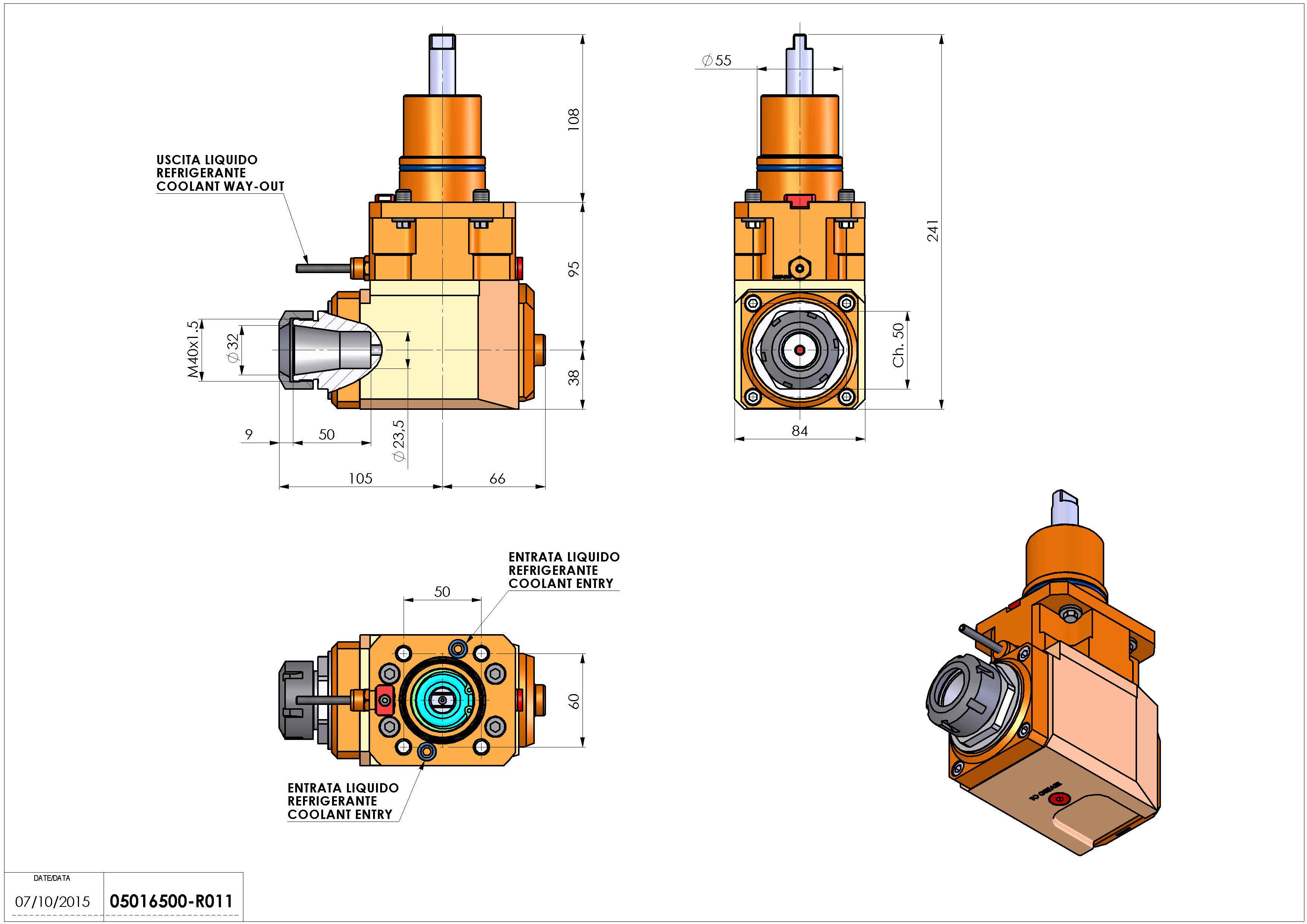 Technical image - LT-A D55 ER32 2:1 H95 NK.