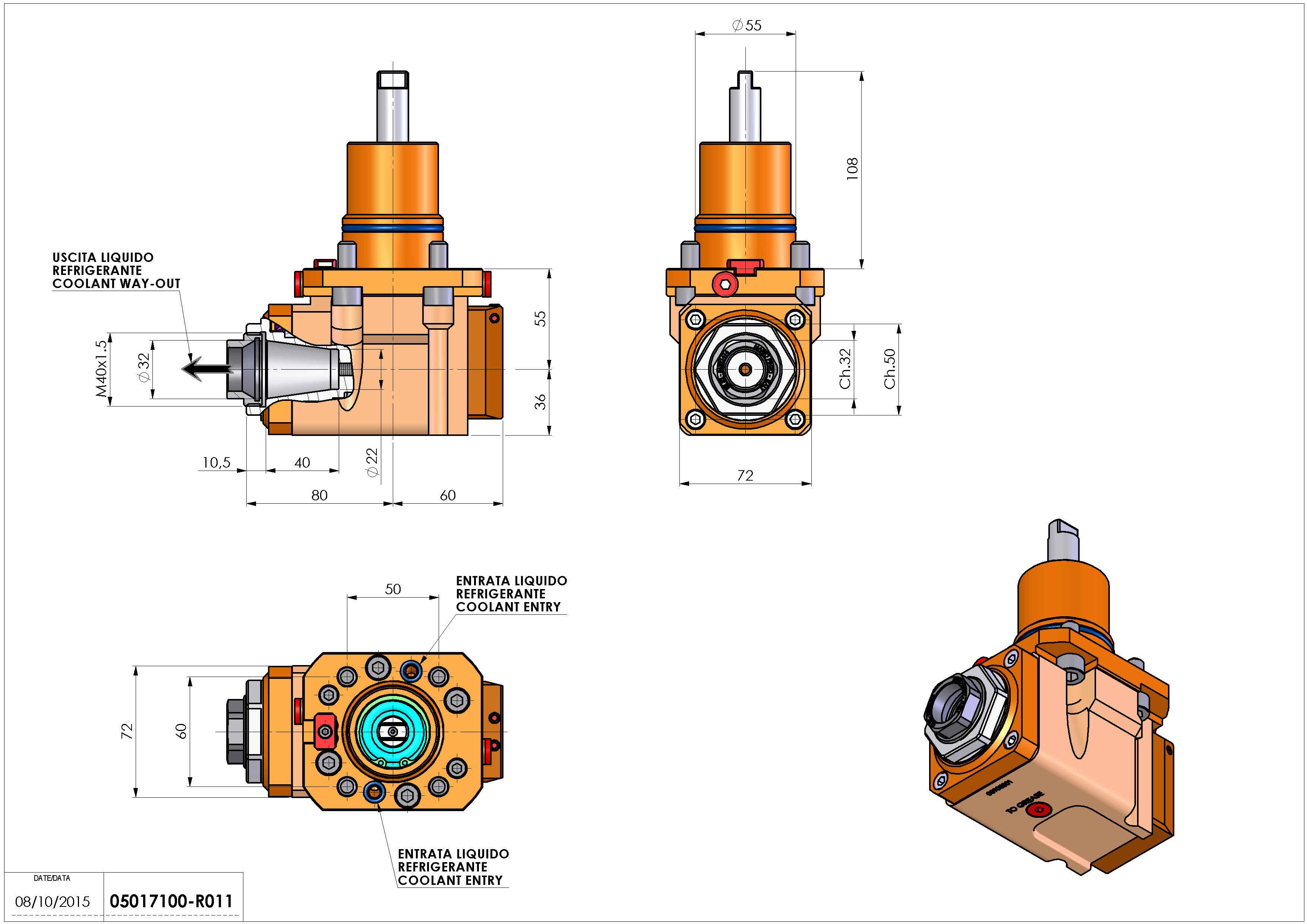 Technical image - LT-A D55 ER32F RF 2:1 H55 NK.