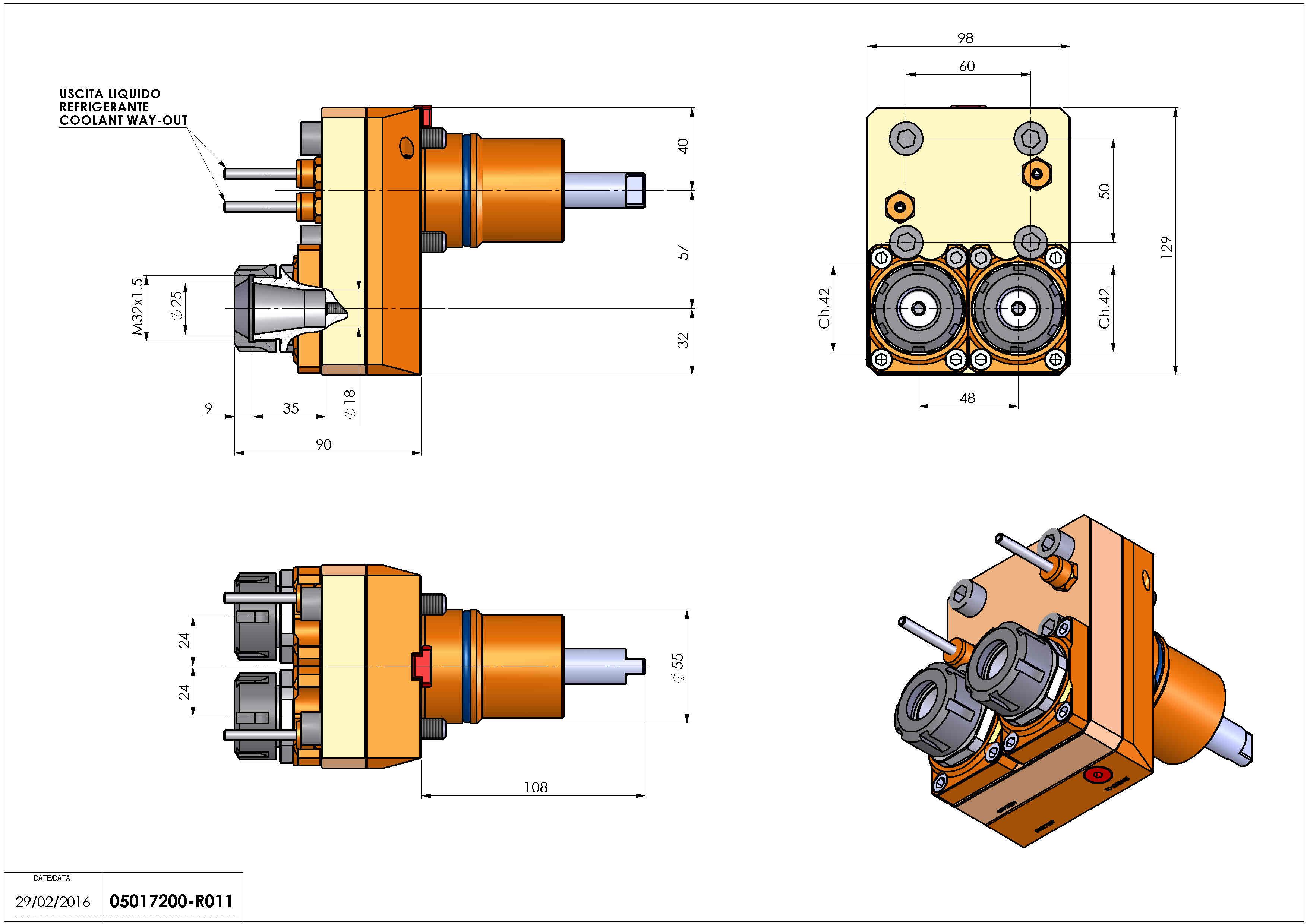 Technical image - LT-S2 D55 ER25 OFS-57 H90 NK.