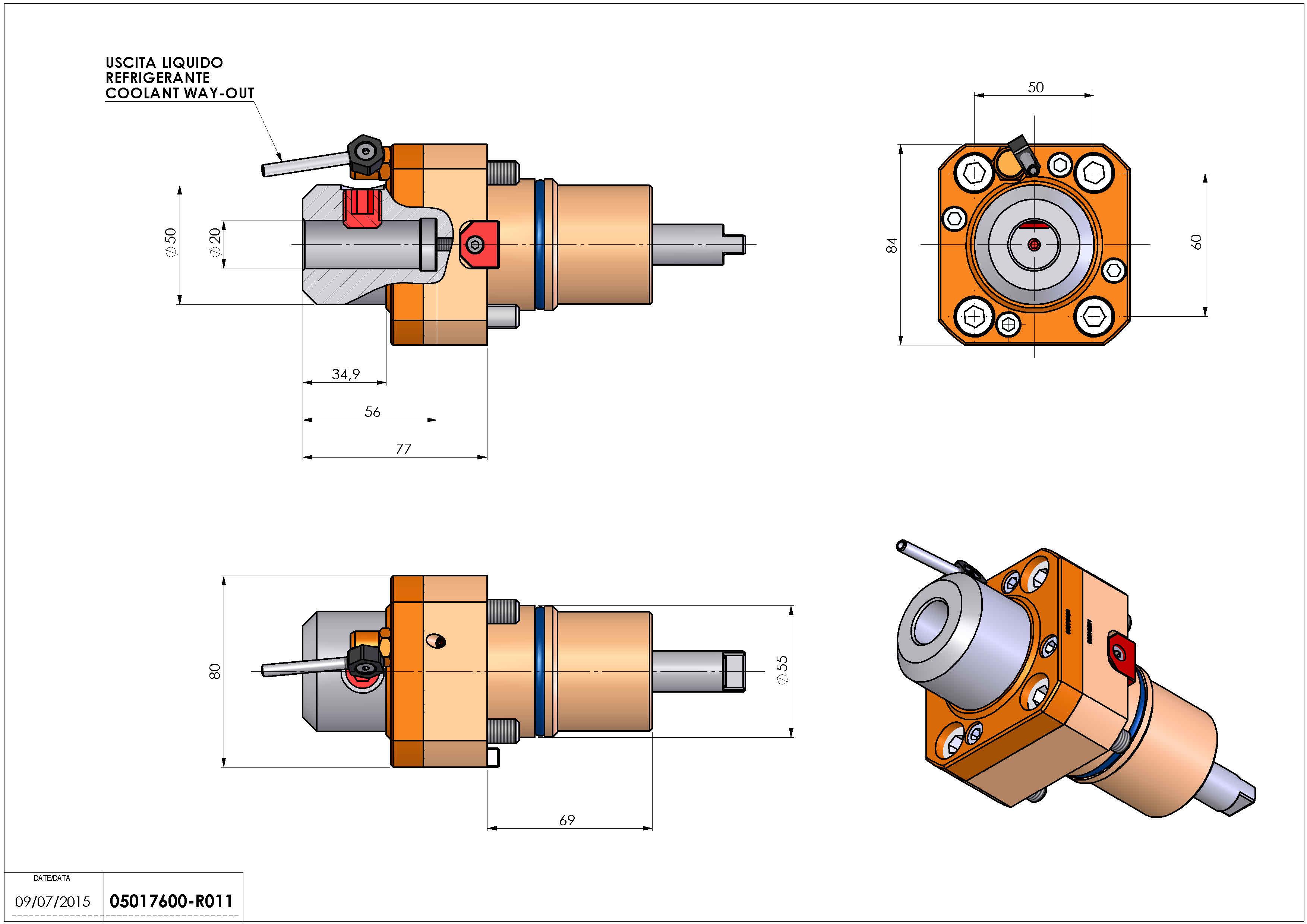 Technical image - LT-S D55 WELDON20 H77 NK.