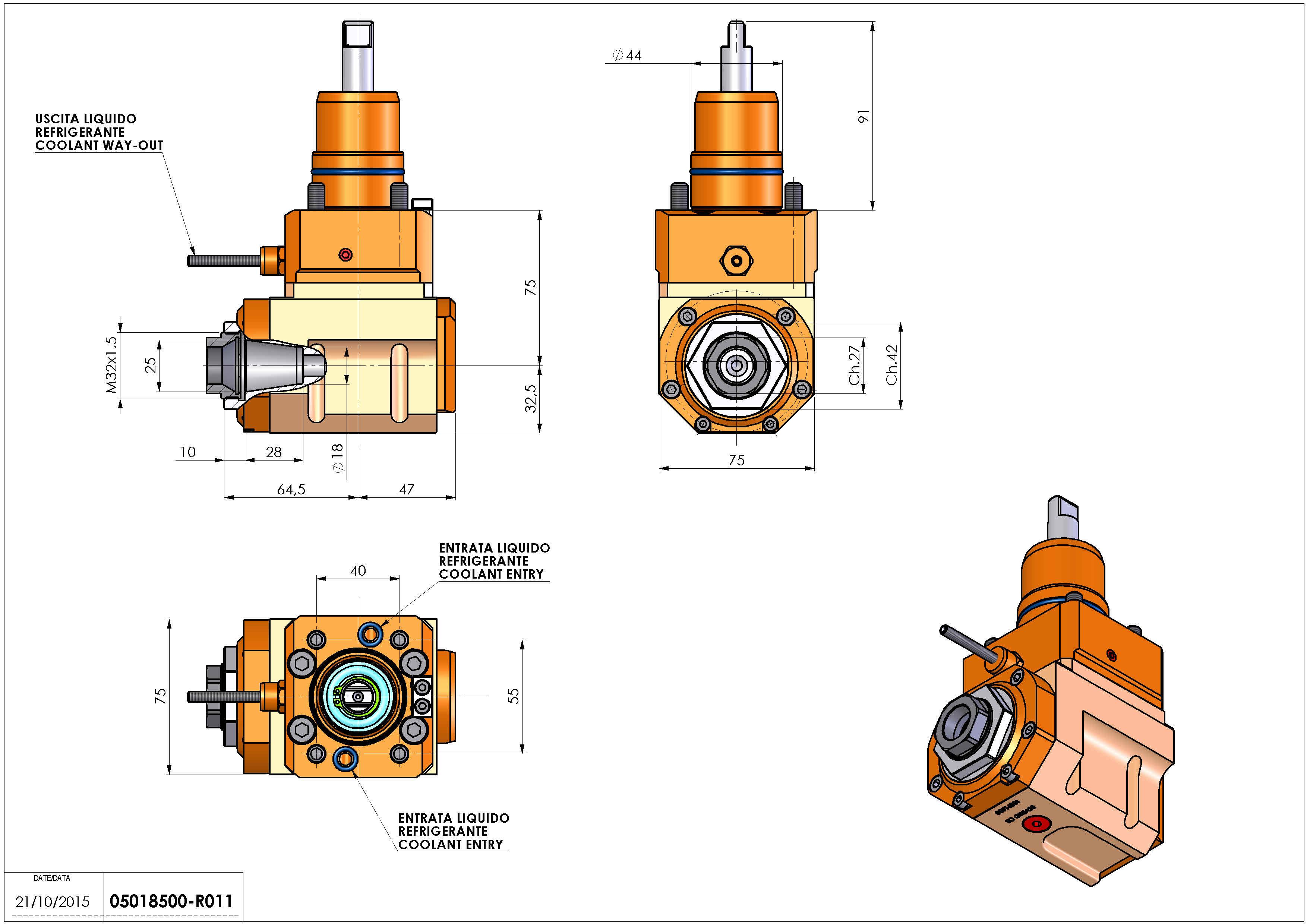 Technical image - LT-A D44 ER25F L-R H75 NK.
