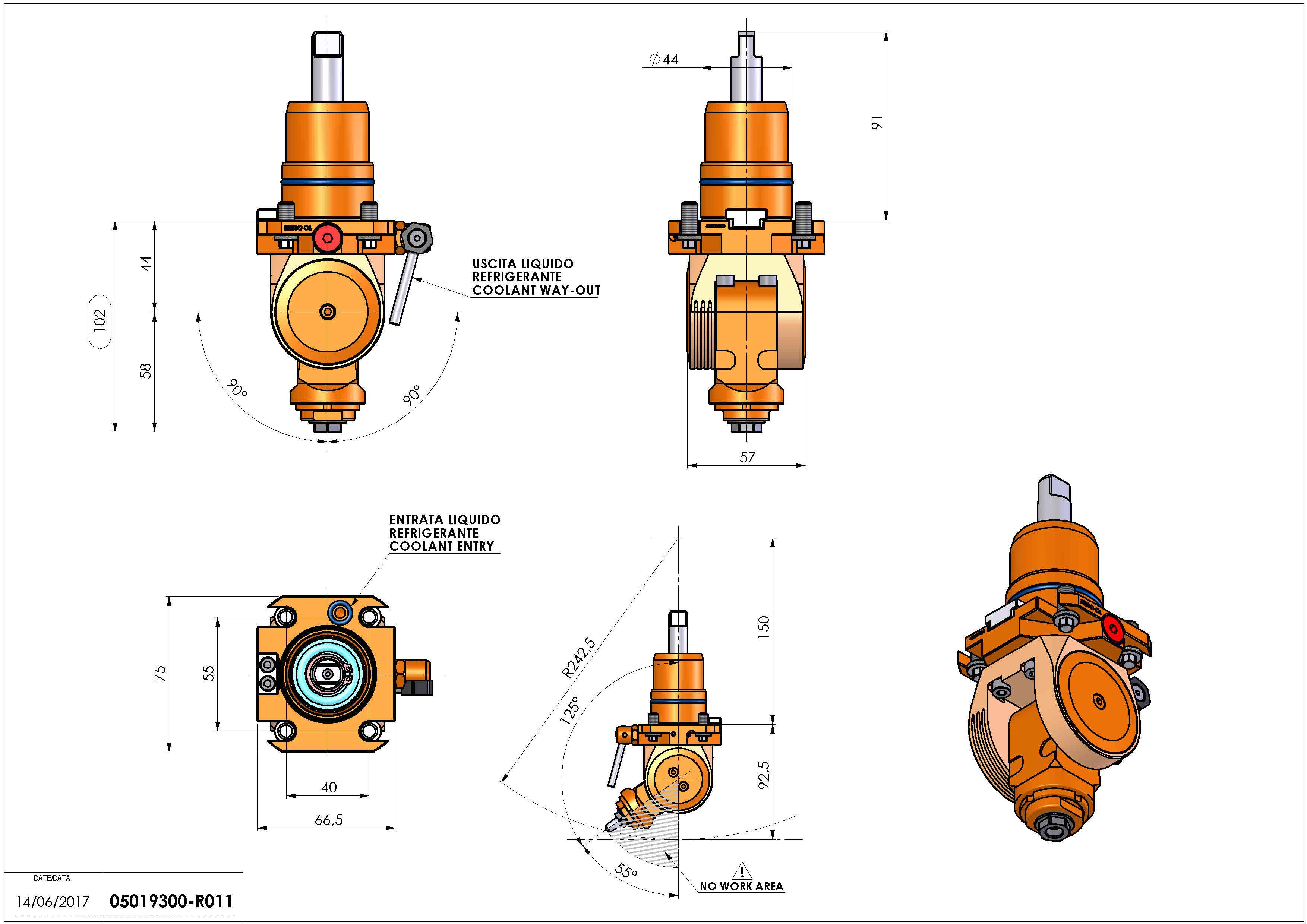 Technical image - LT-T D44 ER11F H44-100.