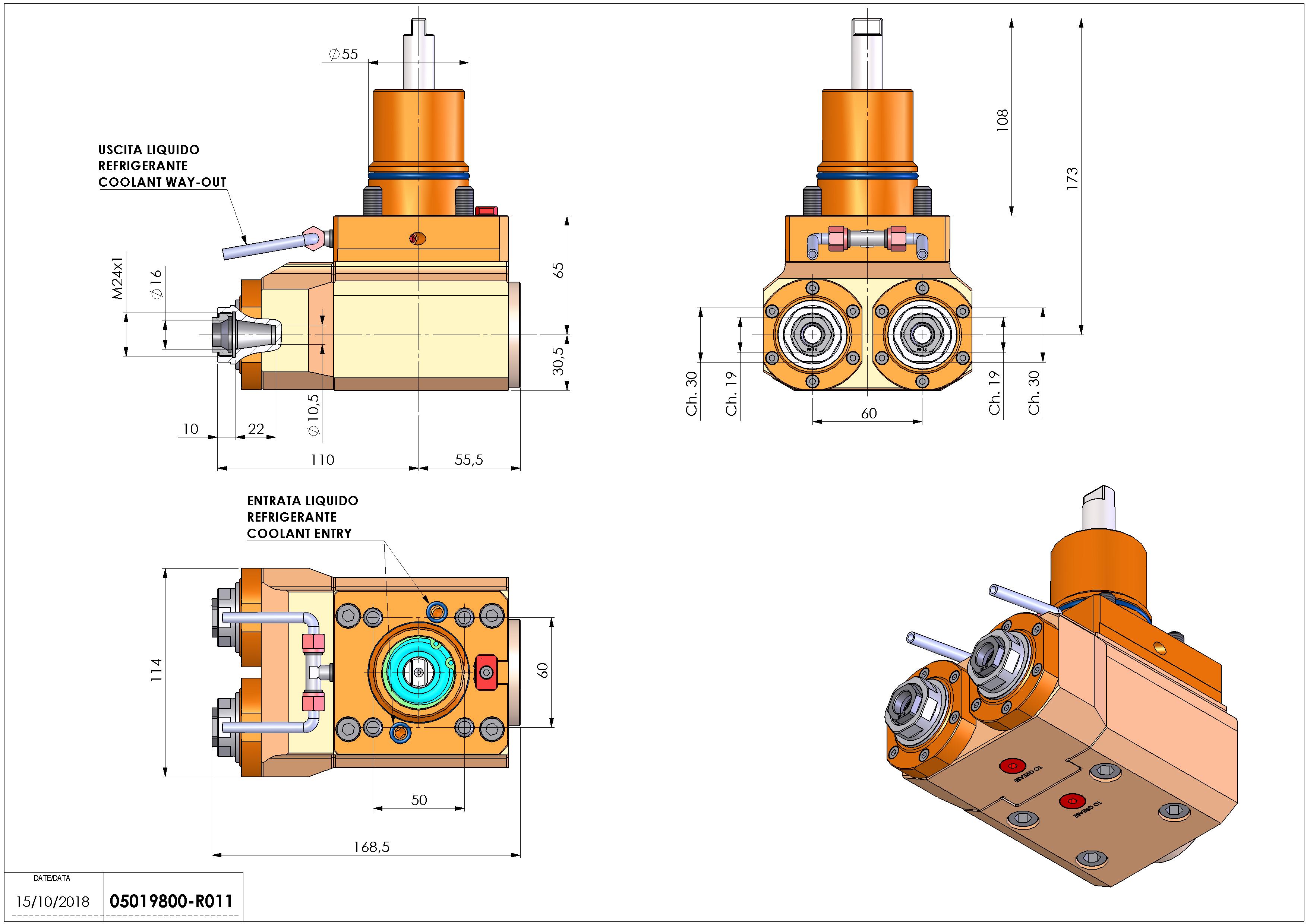 Technical image - LT-A2H D55 ER16F H65.