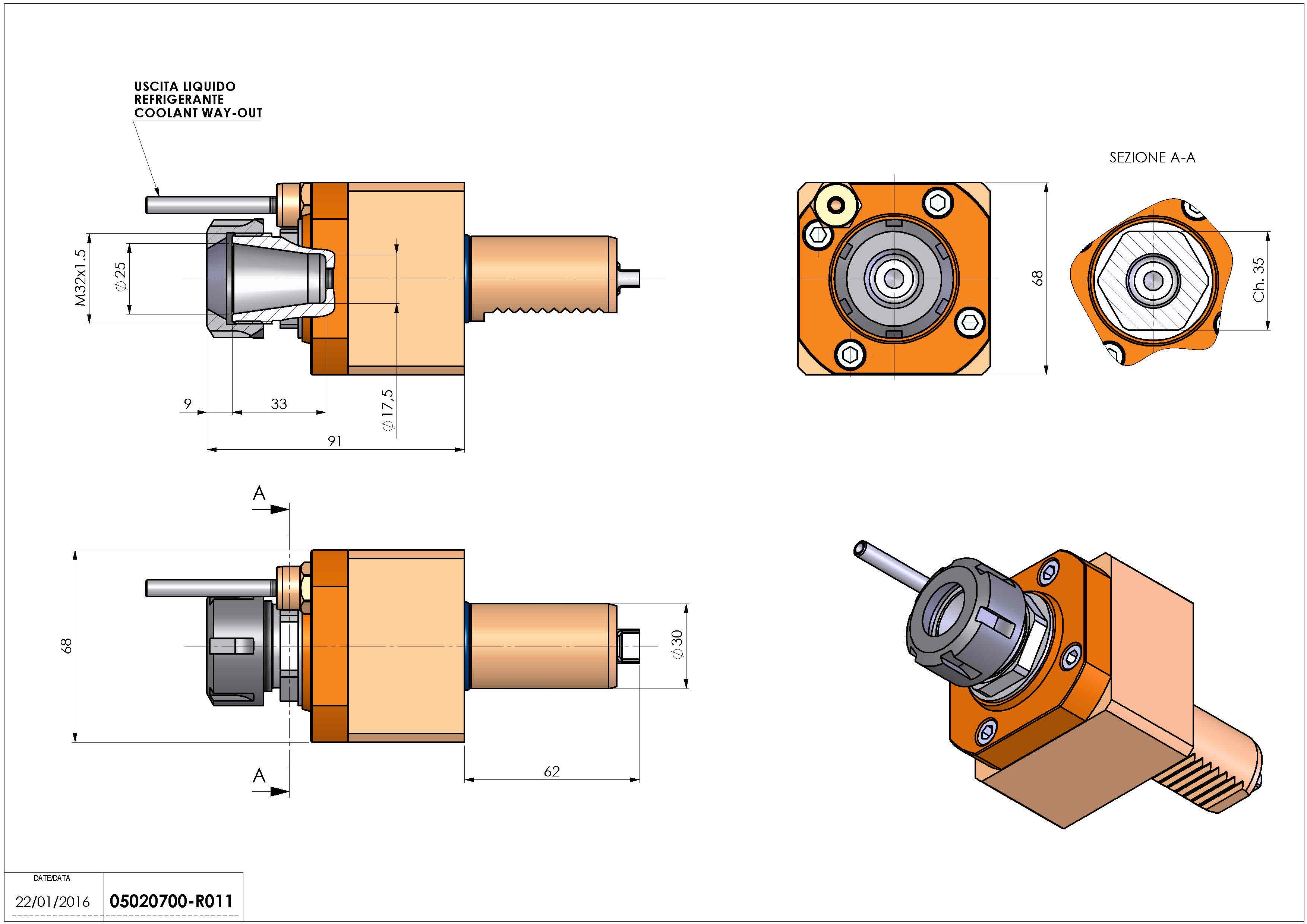 Technical image - LT-S VDI30 ER25 H82 TAKAMAZ.