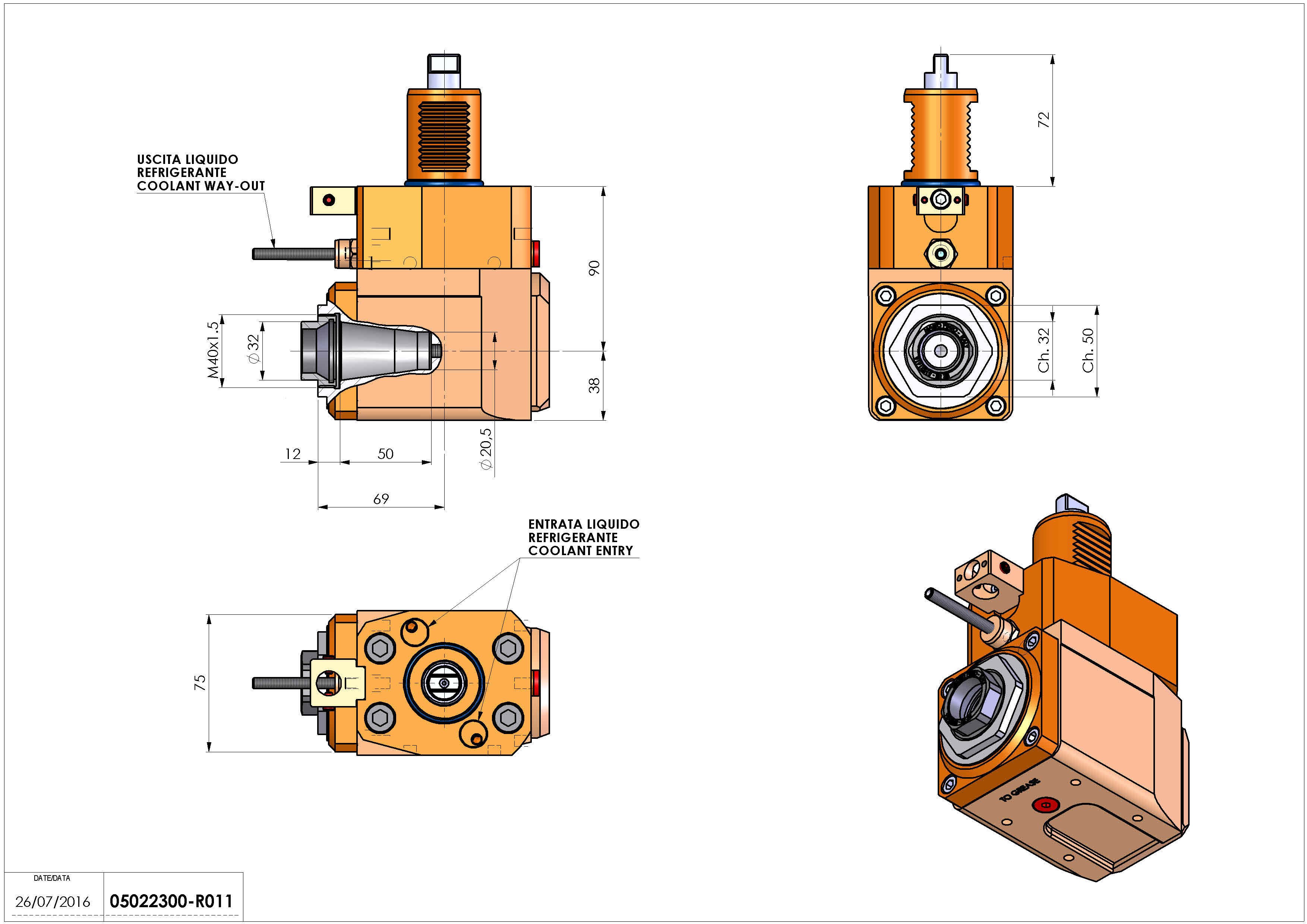 Technical image - LT-A VDI40 ER32F S H90 TZ.
