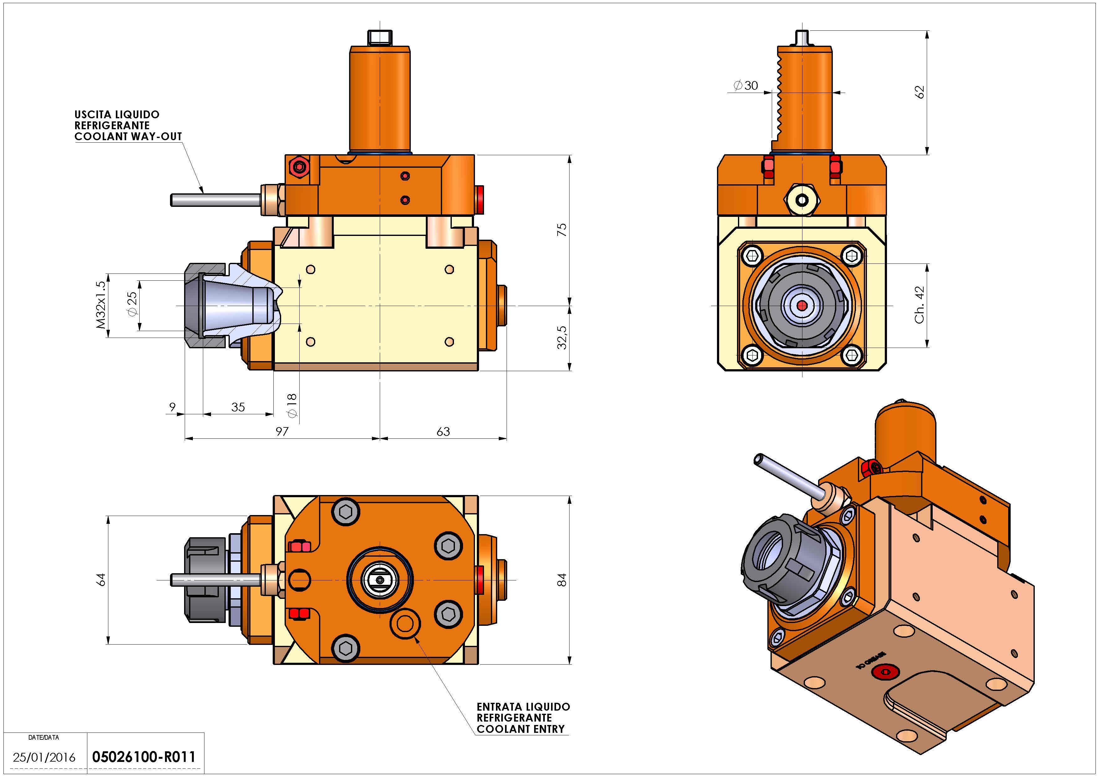 Technical image - LT-A VDI30 ER25 L 1:2 H75 TZ.