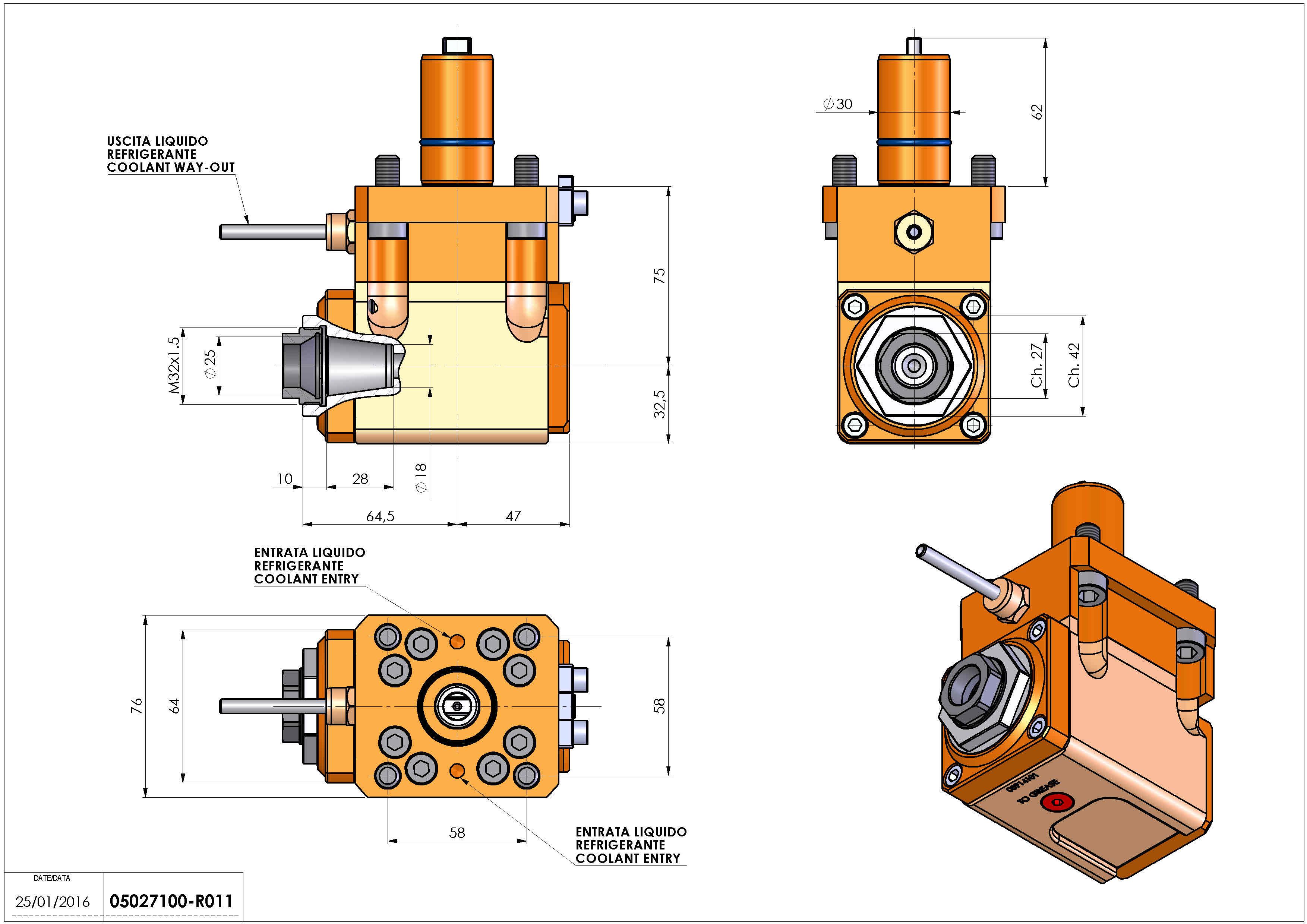 Technical image - LT-A D30 ER25F LR H75 TZ.