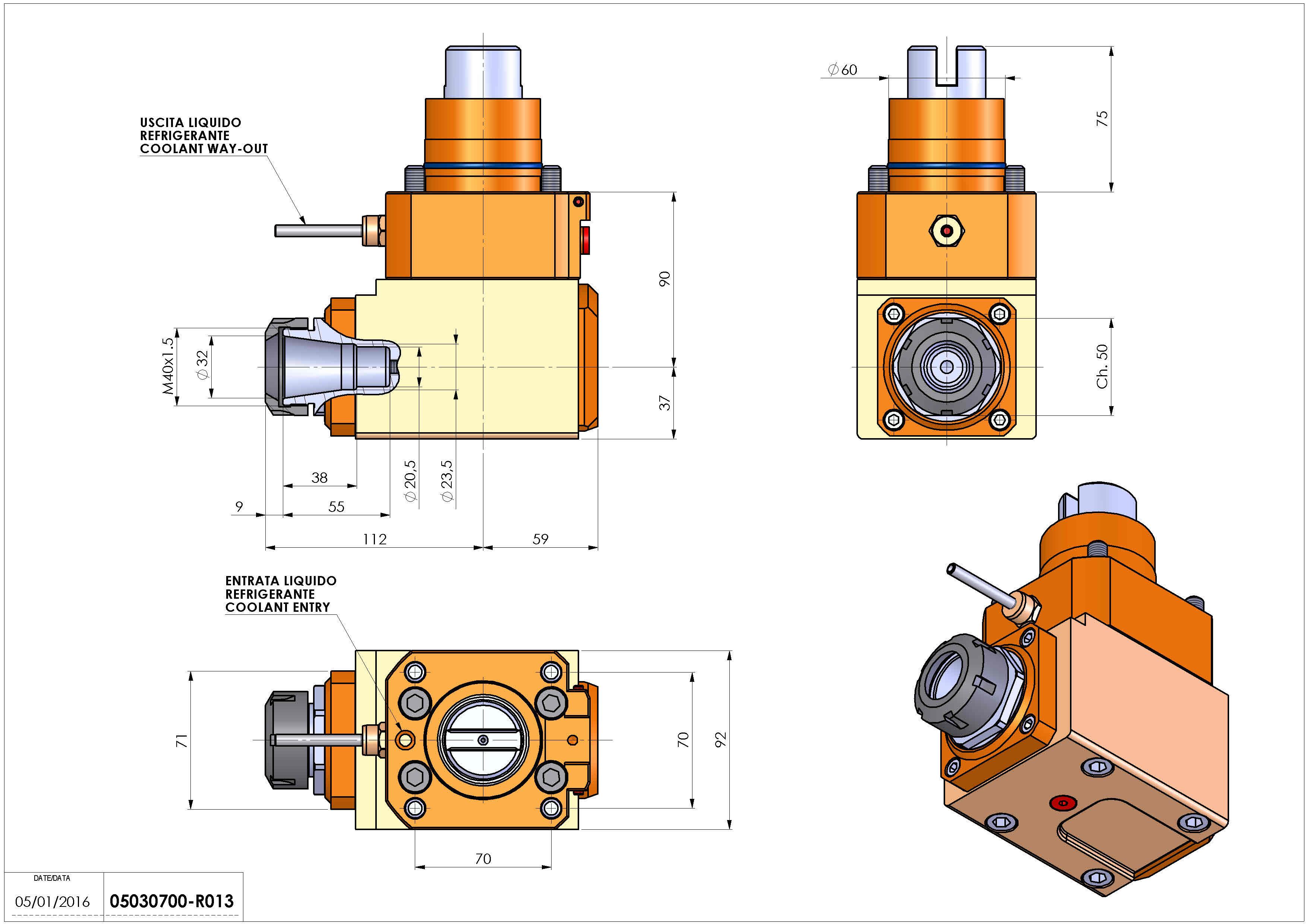 Technical image - LT-A D60 ER32 R H90 TW.
