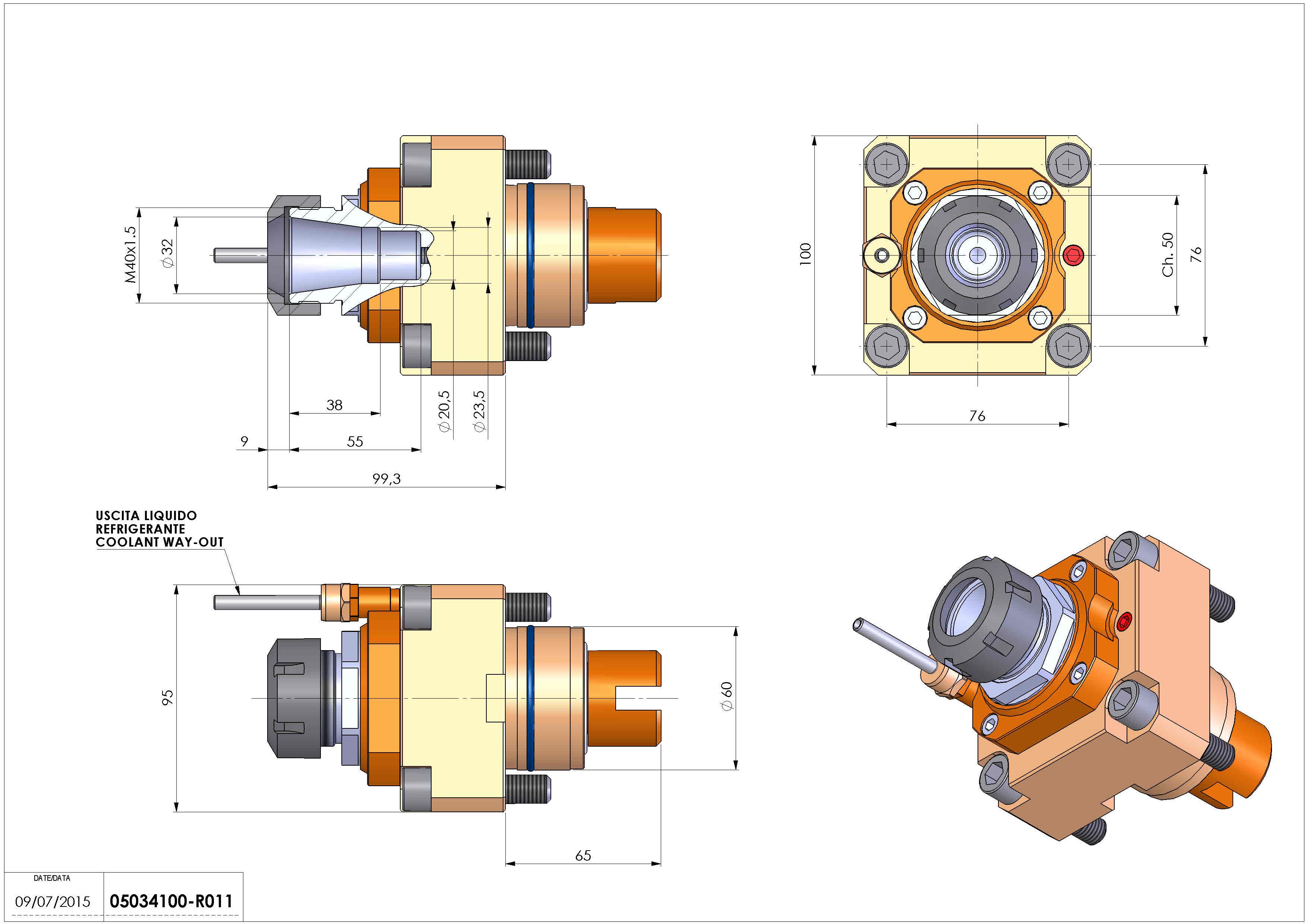 Technical image - LT-S D60 ER32 H100 TA25 TW.